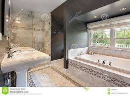 Modern Master Bathroom Vanities by Modern Master Bath Royalty Free Stock Image Image 18090236