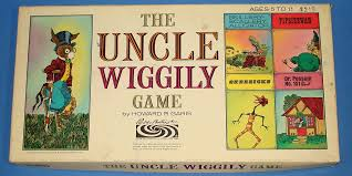 Parker Brothers The Uncle Wiggily Board Game Box Lid