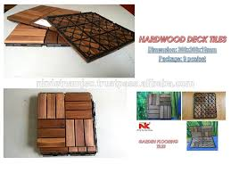 acacia wood deck tile water proof easy for installation buy