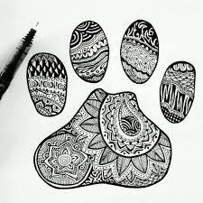 Paw Print By Emilymeganxdeviantart On DeviantART