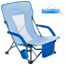 #WEJOY Low Folding Beach Chair With Cup Holder Pocket Slubbed Fabric Mesh  Back, Compact Low Sitting Back Profile Seat Short Collapsible Concert Lawn  ... Flash Fniture Kids White Resin Folding Chair With Vinyl How To Save Yourself Money Diy Patio Repair Aqua Lawn The Best Camping Chairs Travel Leisure Pair Of By Telescope Company Top 14 In 2019 Closeup Check Lavish Home Black Cushion Seat Foldable Set 2 7 Sturdy For Fat People Up To And Beyond 500 Pounds Reweb A 10 Easy Wooden Benches Family Hdyman Wrought Iron Ideas Outdoor Stackable