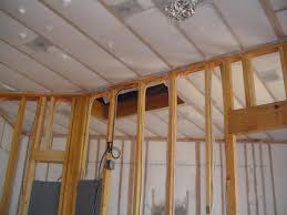 Insulating Cathedral Ceilings With Spray Foam by Blown In Wall System Liberty Insulation