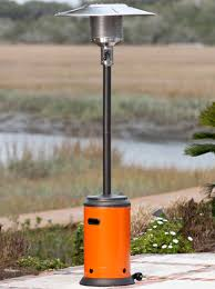 Propane Patio Heat Lamps by Decoration Ideas Fetching Dark Brown Wooden Stand With Chrome