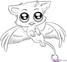 Cute Anime Animals Coloring Pages AZ