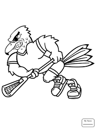Coloring Pages For Kids Birds Flying Hawk