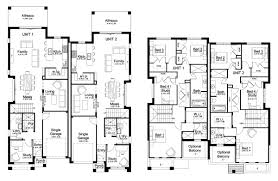 Small Duplex Floor Plans by Forest Glen 50 5 Duplex Level Floorplan By Kurmond Homes New