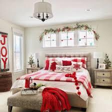 entzückende deko ideen fürs schlafzimmer weihnachtlich