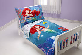 little mermaid toddler bedding set ariel ocean princess bed