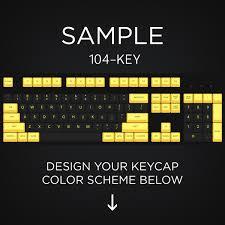 Max Keyboard ANSI Layout Custom Color Cherry MX Keycap Set