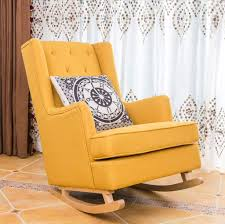 Amazon.com: XINGPING Solid Wood Rocking Chair American ... The Diwani Chair Modern Wooden Rocking By Ae Faux Wood Patio Midcentury Muted Blue Upholstered Mnwoodandleatherrockingchair290118202 Natural White Oak Outdoor Rockingchair Isolated On White Rock And Your Bowels Design With Thick Seat Rocking Chair Wooden Rocker Rinomaza Design Glossy Leather For Easy Life My Aashis