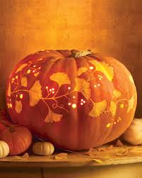 Puking Pumpkin Carving Ideas by Carve By Color Pumpkins Martha Stewart