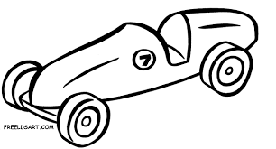 Boy Scout Pinewood Derby Cars Clipart