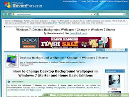 bureau windows 7 sur windows 8 how to change the desktop wallpaper in windows 7 starter edition
