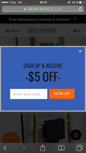 How To Design Mobile Popups That Convert (And Don't Hurt ... Mobil 1 Rebates At Parcipating Retailers Sportsmans Guide Tshirt Basic Logo 705612 Tshirts Rio Hotel Buffet Coupon Rickysnyc Com Coupons Promo Codes Shopathecom How The Coupon Pros Find Hint Its Not Google Sprezza Box March 2017 Review Whats Up Mailbox Official Americade Program By Christian Dutcher Issuu Everything You Need To Know About Online Bylt Basics Home Facebook Jual Outfitters Baju Lengan Pjang Atasan Kota State Of New Jersey Employee Discounts Get An Hp Student Discount