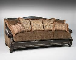 Claremore Antique Sofa And Loveseat by Fairmont Designs Grand Estates Collection Upholstery Living