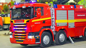 100 Model Fire Trucks RC MODEL FIRE TRUCKS FIRE FIGHTERS RC SCANIA RC MAN RC MB