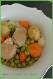 cuisiner des petit pois frais sauté de veau aux petits pois frais dans la cuisine de fabienne
