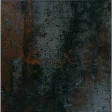 Cabot Porcelain Tile Dimensions Series by Ms International Antares Saturn Coal 20 In X 20 In Glazed