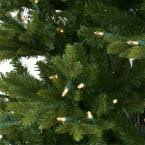 Home Depot Ge Pre Lit Christmas Trees by Ge 7 5 Ft Just Cut Canadian One Plug Tree Warm White Led