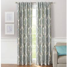 Navy Blue Chevron Curtains Walmart by Living Room Curtains At Walmart