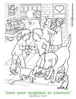 Scroll Down For This Value Coloring Sheet On Neighbors