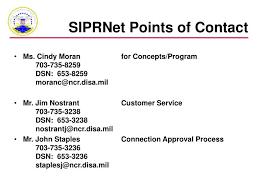 Disa Siprnet Help Desk by Ppt Disn Data Networks Secret Internet Protocol Router Network