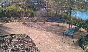Decmposd Granite Landscae Photos | Granite Can Replace Concrete ... Simple Design Crushed Granite Cost Gdlooking Decomposed Front Yard Landscaping With Pathways And Patios Grand Gardens Granite Archives Dianas Designs Austin Backyards Terrific Landscape Tropical Yard Landscape Xeriscape Theme With Decomposed Crushed Base Capital Upkeep Parking Space Plate An Expensive But New Product Is Out On The Market That Creates A Los Angeles Ccymllv 11 Install Youtube Ambience Garden Modern