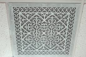 Decorative Return Air Grille 20 X 20 by Decorative Grille For T Bar Suspended Ceilings Beaux Arts