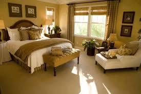 Bedroom Decor Master Ideas Light Brown Leather Padded Stool Dark Pillows Grey Textured Rug