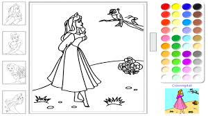 Princess Coloring Pages Games Barbie And Online