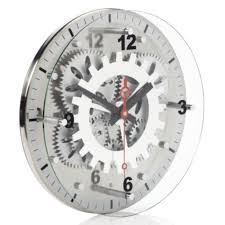 Moving Gear Wall Clock Kitchen Z Gallerie