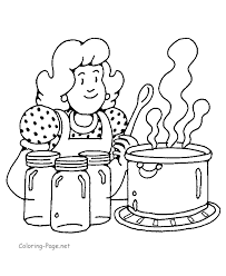 Vibrant Creative Cooking Coloring Pages To Download And Print For Free