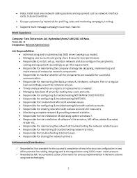 Resume Windows System Administrator
