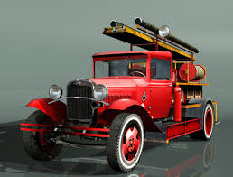 100 Fire Truck Games Free Truck Type PMG1 3D Model