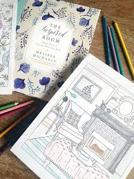 A New Coloring Book For House And Home Lovers The Inspired Room