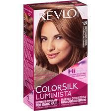 Revlon ColorSilk Luminista Hair Color Dye – Light Caramel Brown