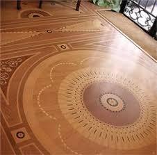 Wood Floor Faux Inlay Stencil Stenciling