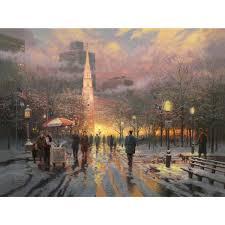 Thomas Kinkade Christmas Tree Teleflora by Glory Of Winter U2013 Limited Edition Art The Thomas Kinkade Company