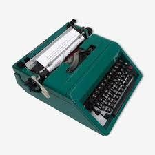 machine à écrire ancienne vintage d occasion