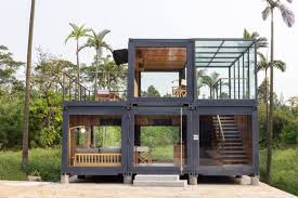 100 Containers Home Architects Stack Shipping Containers For Marketing Suite In