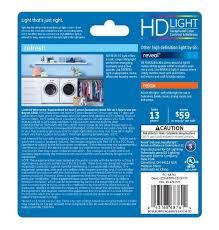 ge 40w daylight high def ca10 blunt tip clear medium base led