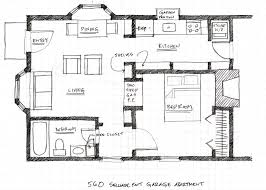 Uncategorized Modern Garage Apartment Floor Plan Marvelous With