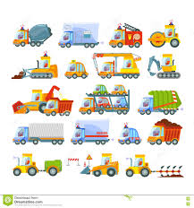 Collection Of Transport Icons Stock Vector - Illustration Of ...