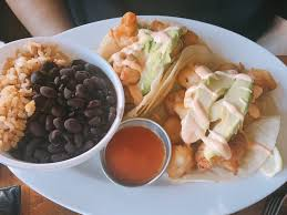 sea shrimp tacos yummy shrimp poppers with avocado and salsa