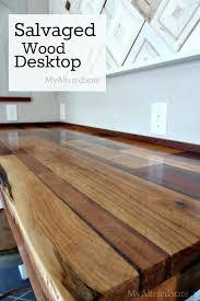 desk l shaped desk wood desk wooden table top home depot round