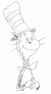 12 Pics Of Cat In The Hat Fish Coloring Pages