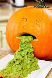 Vomiting Pumpkin Dip by 10 Quick U0026 Easy Healthy Halloween Food Recipes