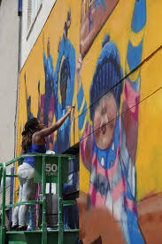 Big Ang Mural Unveiling by Aclu Protest Mural Unveiled In Downtown Raleigh News U0026 Observer