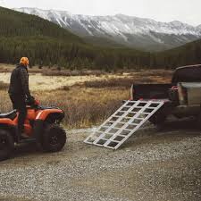 100 Motorcycle Ramps For Pickup Trucks Yaheetech 69 TriFold Aluminum Loading Ramp For Ramp