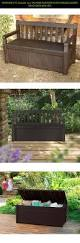 Sams Club Wicker Deck Box by Best 25 Keter Deck Box Ideas On Pinterest Rustic Deck Boxes